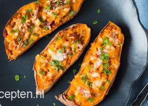 gezonde kapsalon zoete aardappel